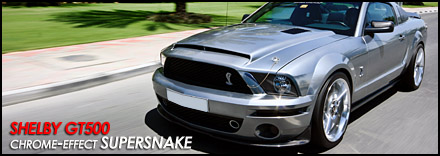 Shelby GT500 Supersnake - Chrome Effect