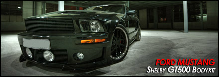 Ford Mustang - Shelby Eleanor GT500